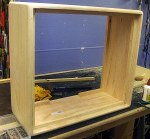 2 x 12 cab under construction