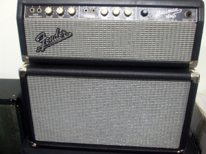 Fender Bassman and 1 x 12 cab