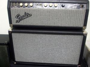 Fender Bassman and 1 x 12 cab