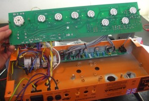 Removal of main circuit board